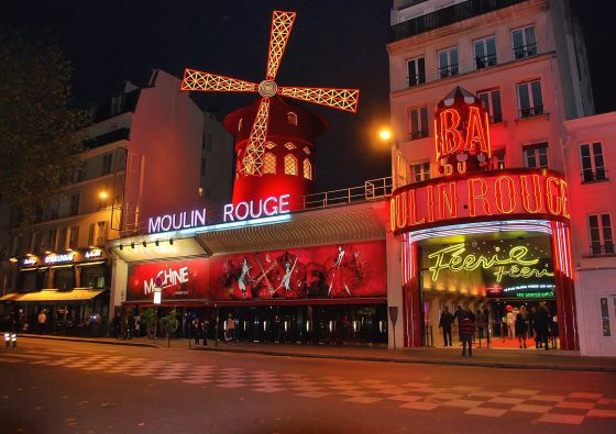 night out in Paris